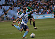 Coventry City Striker Adam Armstrong during the Sky Bet League 1 match between Coventry City and Rochdale at the Ricoh Arena, Coventry, England on 5 March 2016. Photo by Chris Wynne.