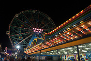 Coney Island amusement park, Brooklyn, NY