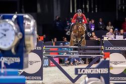 Schwizer Pius, SUI, Quatro Rubin<br /> Jumping International de Bordeaux 2020<br /> © Hippo Foto - Dirk Caremans<br />  08/02/2020