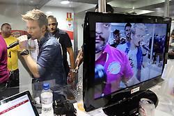 Michel Teló nos bastidores do Planeta Atlântida 2013/RS, que acontece nos dias 15 e 16 de fevereiro na SABA, em Atlântida. FOTO: Jefferson Bernardes/Preview.com