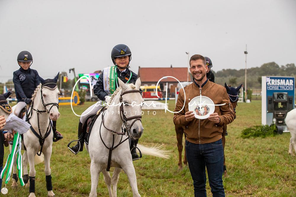 Hoste Chloe, BEL, Kita<br /> Nationaal Tornooi LRV Ponies<br /> Zonnebeke 2019<br /> © Hippo Foto - Dirk Caremans<br />  29/09/2019