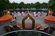 hat Mae Nam (beach). Poolside Thai Dinner Buffet at Santiburi Dusit Resort.