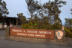 Thomas A. Jaggar Museum, Hawaii Volcanoes National Park,The Big Island, Hawaii, United States of America