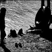 NI—OS DE PORAI - Homenaje a Mariano Diaz.Photography by Aaron Sosa.Riberas del Rio Unare.Estado Anzoategui  - Venezuela 2001.(Copyright © Aaron Sosa)