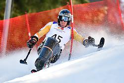 MEIJER Floris, LW10-2, NED, Slalom at the WPAS_2019 Alpine Skiing World Cup Finals, Morzine, France