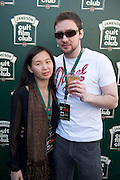 30/04/2014. Sam Lee and Kevin Flaherty Knocknacarra  at the Jameson Cult Film Club screening of The Usual Suspects in the Black Box Galway. <br />  .Photo:Andrew Downes