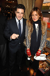 LUCA DEL BONO and his sister MELISSA DEL BONO at a party hosted by Allegra Hicks to launch Lapo Elkann's fashion range in London held at Allegra Hicks, 28 Cadogan Place, London on 14th November 2007.<br />