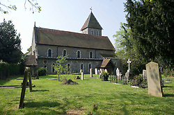 The church in Faversham  where the Peaches Geldof service was held.<br /> Friends and family arrive at St Mary Magdalene and St Lawrence church in the village of Davington, Kent, to the funeral of Peaches Geldof.<br /> Monday, 21st April 2014. Picture by i-Images