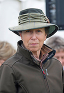 Princess Anne At Gatcombe Horse Trials
