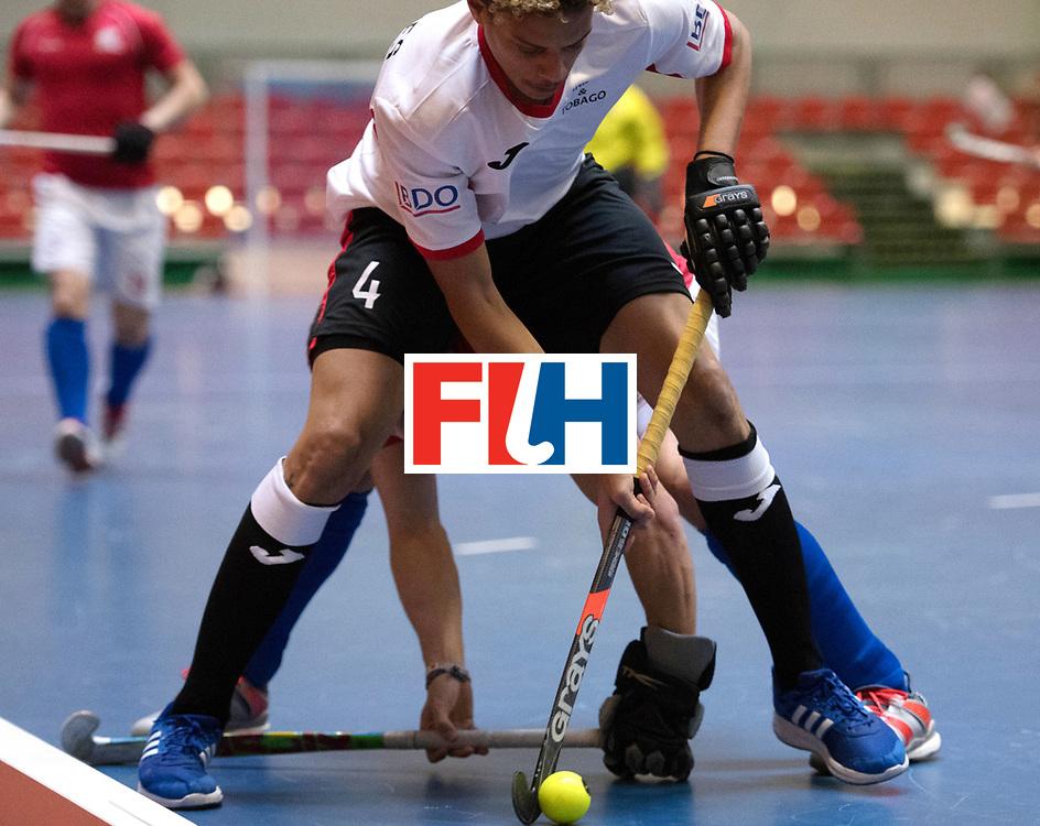 BERLIN - Indoor Hockey World Cup<br /> Czech Republic - Trinidad &amp; Tobago<br /> foto: de GANNES Aidan<br /> WORLDSPORTPICS COPYRIGHT FRANK UIJLENBROEK