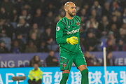 Darren Randolph (35) during the Premier League match between Leicester City and West Ham United at the King Power Stadium, Leicester, England on 22 January 2020.