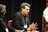 "Jonathan Odell speaks during a segment titled ""Fiction, Memory, and Southern History"", at the Oxford Conference for the Book, in Oxford, Miss. on Wednesday, March 26, 2014."