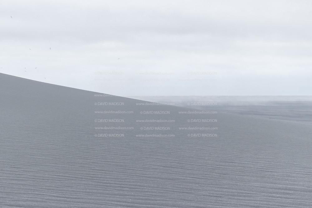 Grey Sand Dunes at Cape Ingolfshofdi, Iceland.