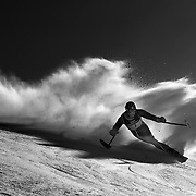Cameron Rahles-Rahbula, Australia, in action during the Men's Giant Slalom Standing, Adaptive competition at Coronet Peak, during the Winter Games. Queenstown, New Zealand, 23rd August 2011. Photo Tim Clayton...