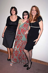 Left to right, TRACEY EMIN, ISABELLA BLOW and JERRY HALL at the Lighthouse Gala Auction in aid of the Terence Higgins Trust held at Christie's, St.James's, London on 12th March 2007.<br />