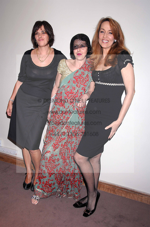Left to right, TRACEY EMIN, ISABELLA BLOW and JERRY HALL at the Lighthouse Gala Auction in aid of the Terence Higgins Trust held at Christie's, St.James's, London on 12th March 2007.<br /><br />NON EXCLUSIVE - WORLD RIGHTS