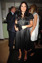 MARTINE McCUTCHEON at a dinner in aid of Eve Appeal, Gynaecology Cancer research Fund held at Nobu, The Metropolitan Hotel, Park Lane, London on 3rd September 2007.<br /><br />NON EXCLUSIVE - WORLD RIGHTS