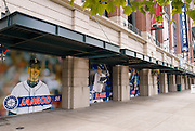Pictures of players at the Mariners Team Store, Safeco Field, Seattle, Washington