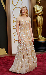 Cate Blanchett arriving to the 2014 Oscars at the Hollywood and Highland Center in Hollywood, California, USA,  Sunday, 2nd March 2014. Picture by Hollywood Bubbles / i-Images<br /> UK ONLY