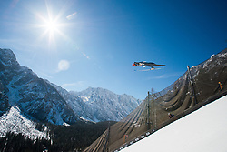 Constantin Schmid (GER) during the Trial Round of the Ski Flying Hill Individual Competition at Day 1 of FIS Ski Jumping World Cup Final 2019, on March 21, 2019 in Planica, Slovenia. Photo by Peter Podobnik / Sportida