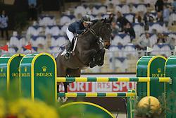 Michaels-Beerbaum, Meredith, Checkmate<br /> Genf - Rolex Grand Slam 2013<br /> Credite Suisse Springen<br /> © www.sportfotos-lafrentz.de / Stefan Lafrentz