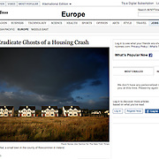 "Screengrab of ""Irish Try to Eradicate Ghosts of a Housing Crash"" published inThe New York Times"