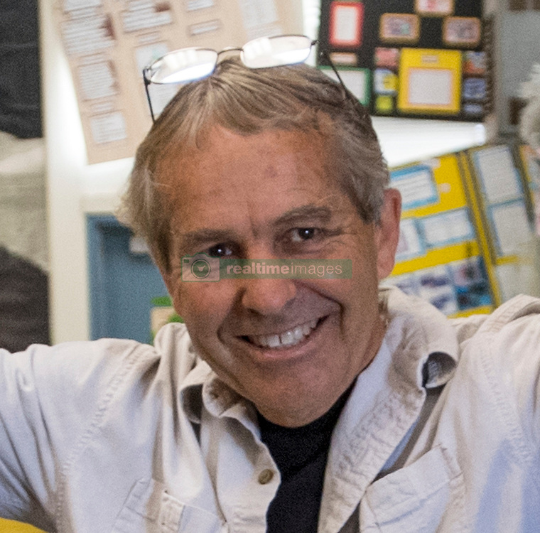 May 2, 2017 - Newport Beach, California, USA - Jim Blackie earned a 2018 Teacher of the Year award from the Orange County Department of Education in Newport Beach, California, on Tuesday, May 2, 2017. ..Blackie, an 8th grade science teacher at Ensign Intermediate School, is one of six teachers who were surprised with the honor by county superintendent of school Dr. Al Mija?res. ..(Photo by Jeff Gritchen, Orange County Register/SCNG) (Credit Image: © Jeff Gritchen, Jeff Gritchen/The Orange County Register via ZUMA Wire)