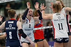 20190112 NED: Sliedrecht Sport - VC Sneek: Sliedrecht<br />Brechtje Kraaijvanger (2) of Sliedrecht Sport <br />©2019-FotoHoogendoorn.nl / Pim Waslander