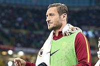08.05.2017 - Milano - Serie A 35a giornata - Milan-Roma - Nella foto:  Francesco Totti - Roma - Calcio Serie A