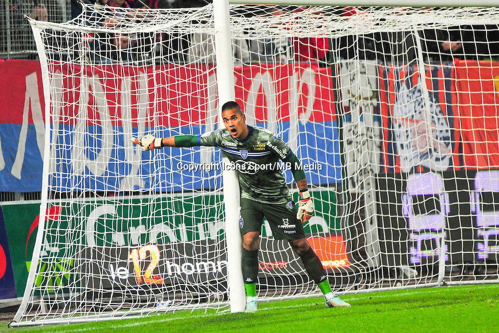 Alphonse Areola - 20.12.2014 - Caen / Bastia - 19eme journee de Ligue 1 <br /> Photo : Philippe Le Brech / Icon Sport
