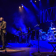 "WASHINGTON, DC - March 7, 2015 - Hozier ( left) performs at the Lincoln Theater in Washington, D.C. His hit song ""Take Me To Church"" was nominated for Song of the Year at the 2015 Grammys. (Photo by Kyle Gustafson / For The Washington Post)"
