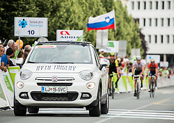Avto Triglav during 1st Stage of 25th Tour de Slovenie 2018 cycling race between Lendava and Murska Sobota (159 km), on June 13, 2018 in  Slovenia. Photo by Vid Ponikvar / Sportida