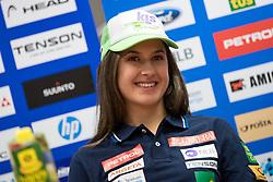 Tina Robnik at press conference of Slovenian Alpine Ski Team, on September 11, 2017 in Smucarska zveza Slovenije, Ljubljana, Slovenia. Photo by Matic Klansek Velej / Sportida
