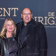 NLD/Amsterdam/20181023 -  Film premiere De Dirigent, Simon de Waal en partner