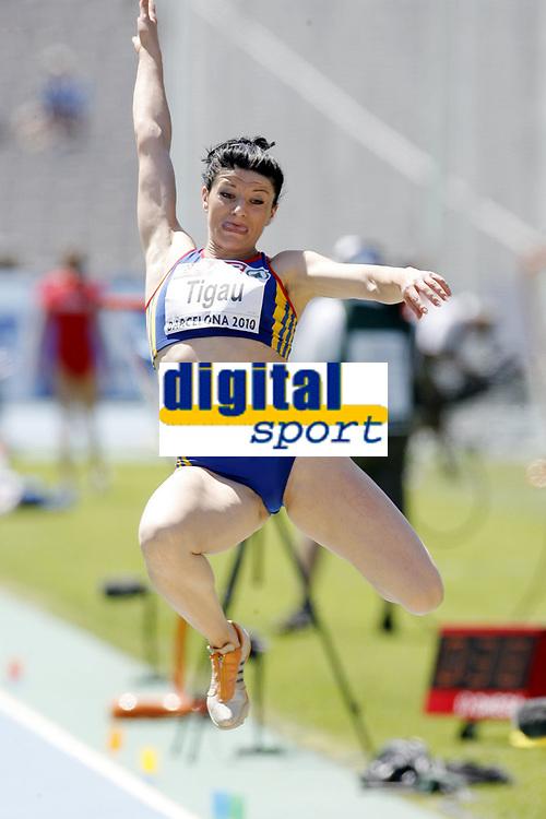 Friidrett, 27. juli  2010 ,<br /> EM Barcelona<br /> <br /> European Athletics Championships<br /> Barcelona<br /> <br /> Viorica Tigau , ROU lengde<br /> <br /> Foto: Anders Hoven , Digitalsport