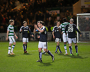 Dundee&rsquo;s Paul McGowan applauds the home support at the end  - Dundee v Celtic, Ladbrokes Scottish Premiership at Dens Park<br />  <br />  - &copy; David Young - www.davidyoungphoto.co.uk - email: davidyoungphoto@gmail.com