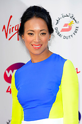 Wimbledon Party<br /> Anne Keothanvong attends the annual pre-Wimbledon party at Kensington Roof Gardens,<br /> London, United Kingdom<br /> Thursday, 20th June 2013<br /> Picture by Chris  Joseph / i-Images