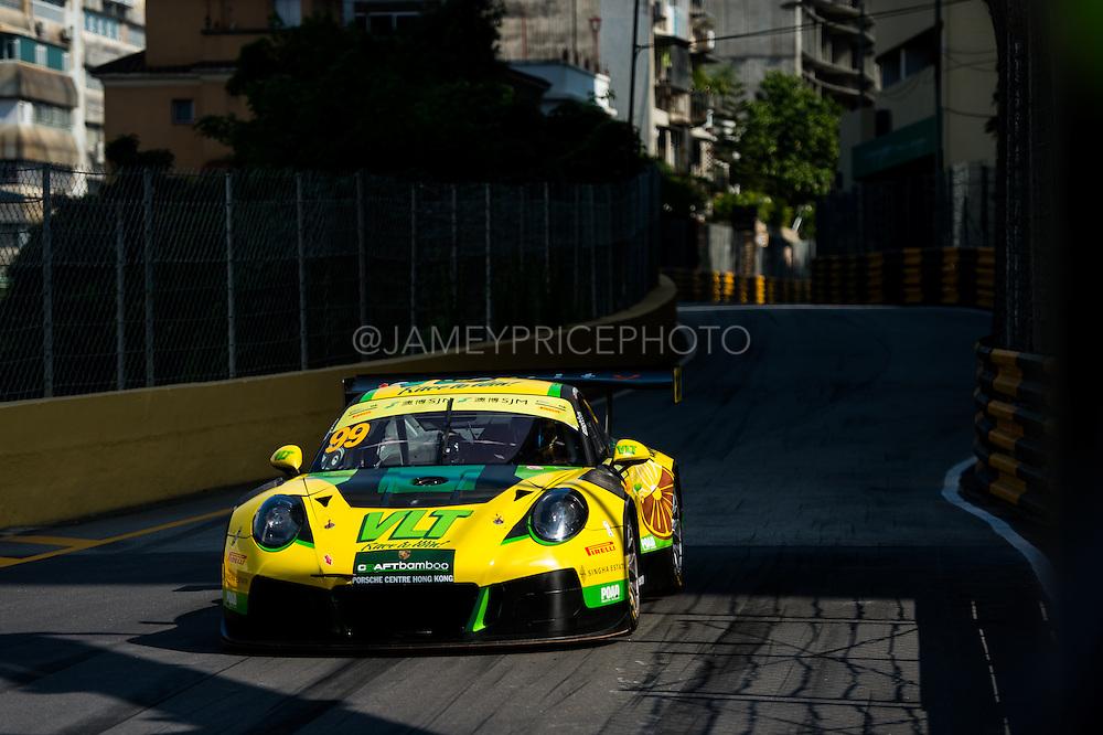 October 16-20, 2016: Macau Grand Prix. 99 Darryl O'YOUNG, Craft Bamboo Racing, Porsche 911 GT3R