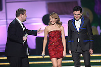 James Corden, Kylie Minogue and Mathew Horne