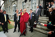 The Dalai Lama visits Ottawa, April 2004, hosted by the Canada Tibet Committee. //// Visite du Dalaï-lama à Ottawa en avril 2004, à l'initiative du Comité Canada Tibet.