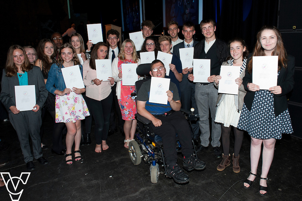 Lincoln City Sport and Education Trust NCS EM1 Graduation ceremony held at The Engine Shed, Lincoln<br /> <br /> Date: September 4, 2015<br /> Picture: Chris Vaughan/Chris Vaughan Photography