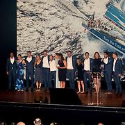 NLD/Scheveningen/20180630 - Koning bij Award Diner Volvo Ocean Race, Turn the Tide on Plastic<br /> Volvo Ocean 65