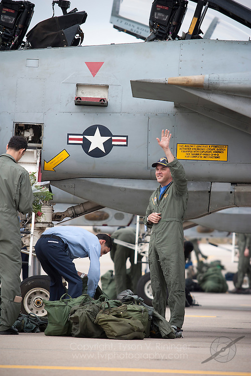 Carrier Air Wing Eight returns home following a six-month deployment aboard the USS Theodore Roosevelt during Operation Enduring Freedom 2005-2006