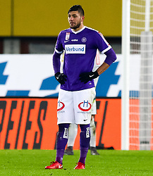 10.02.2018, Ernst Happel Stadion, Wien, AUT, 1. FBL, FK Austria Wien vs Lask, 22. Runde, im Bild Patrizio Stronati (FK Austria Wien) // during Austrian Football Bundesliga Match, 22nd Round, between FK Austria Vienna and Lask at the Ernst Happel Stadion, Vienna, Austria on 2018/02/10. EXPA Pictures © 2018, PhotoCredit: EXPA/ Alexander Forst