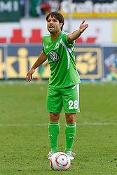 07.05.2011, Volkswagen Arena, Wolfsburg, GER, 1.FBL, VfL Wolfsburg vs 1.FC Kaiserslautern, im Bild Diego (Wolfsburg #28).EXPA Pictures © 2011, PhotoCredit: EXPA/ nph/  Schrader       ****** out of GER / SWE / CRO  / BEL ******