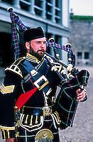 Piper, 78th Highlanders, Halifax Citadel National historic site, Halifax, Nova Scotia, Canada
