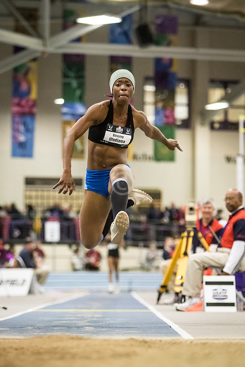 USATF Indoor Track & Field Championships: womens long jump, Blessing Ufodiama