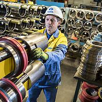 19/09/16 Halmstad Sweden- Pix at Tata Steel , Halmstad Distribution Centre