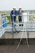 14/05/2017  Repro Free:  Minister Simon Coveney was in Kinvara with Seamus Granahan Regional Asset Manager Irish Water  to officially open the new wastewater treatment plant which was constructed following an investment of €5.1 million by Irish Water. . Photo:Andrew Downes, xposure