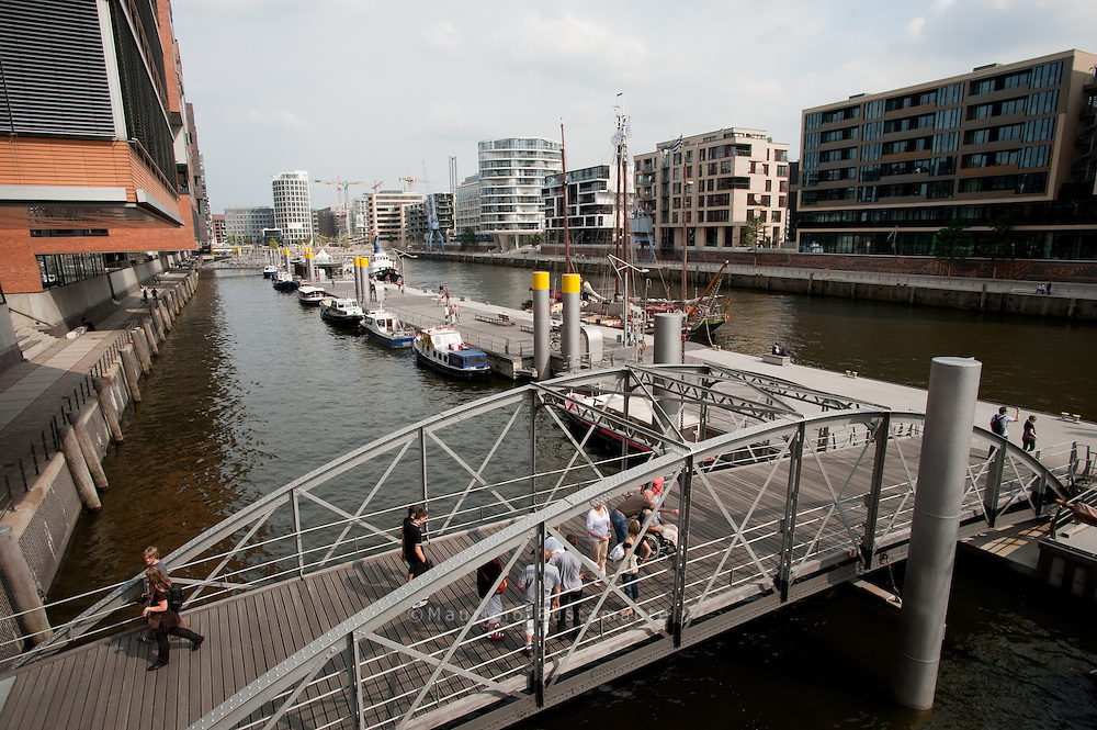 HafenCity Hamburg is a project of city-planning where the old harbourquarters of Hamburg are built on with offices, hotels, shops, official buildings and residential areas. The project is one of the largest rebuilding projects in Europe in the 21st century